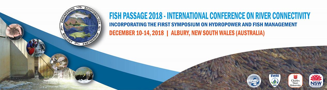 Fish Passage 2018: International Conference on River Connectivity